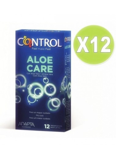Preservativos Adapta Aloe Care 12 uds - Pack 12