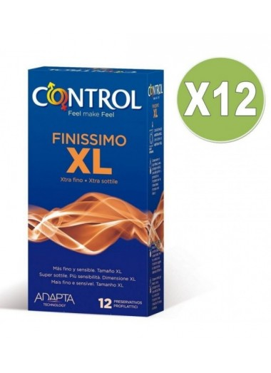 Preservativo finissimo xl 12 unid pack 12
