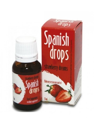Lubricante Spanish Fly Strawberry Dreams