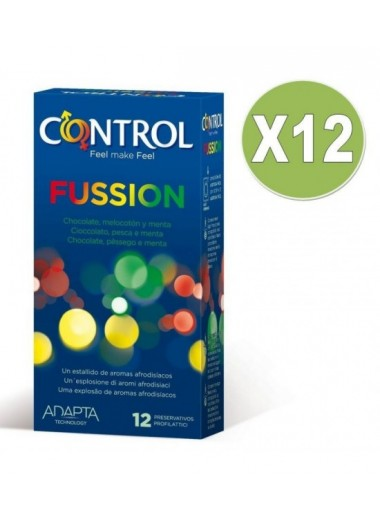 Preservativo fussion 12 unid pack 12uds